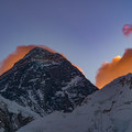 Mount Everest at sunrise is best seen from the nearby peak of Kala Pattar, the highest point of most trek itineraries.- Everest Base Camp (EBC) Overview
