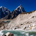 The glacial runoff is crystal clear and icy cold!- Everest Base Camp (EBC) Overview