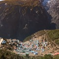 The trail above Namche Bazaar is much more rustic and gains substantially more altitude.- Everest Base Camp (EBC) Part II