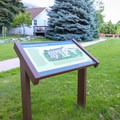 Some interpretive signs display the historical significance of the area and some of its features.- Mormon Station State Historic Park