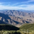 Spectacular views just north of Mount Laguna.- Pacific Crest Trail: California Section A