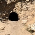 Small cave along the trail.- Pacific Crest Trail: California Section A