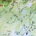 A map of the dirt roads through the Perkins Clearing Easement.- Pillsbury Mountain Fire Tower