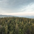 Looking north across the Canada Lake Wilderness.- Pillsbury Mountain Fire Tower