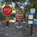 Visitors to the campground must pay at the self-pay kiosk at the entrance to the camp's gravel loop road.- Dayton State Park Campground