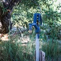 Water spigots, located along the loop road, offer water.- Dayton State Park Campground