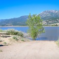 There is a boat ramp at the south end of the parking area.- Little Washoe Lake