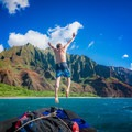 Most boat tours offer more than just a ride. Snorkeling, hiking, picnics, and swimming are also offered.- Nā Pali Coastal Tours