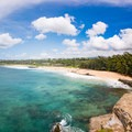 The view of the entire beach is quite amazing from high up.- Shipwreck's Beach