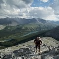 Ascending from Summit Lake and the Alaska Highway.- Mount St. Paul via Summit Peak Trail