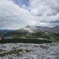 Looking over Summit Lake.- Summit Ridge Trail