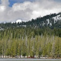 Webber Lake in the Spring.- Webber Lake Campground