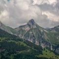 Zindlenspitz seen from the summit of Gross Aubrig.- Gross Aubrig + Nussen Loop