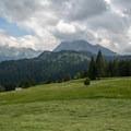 Fluebrig seen from the ascent.- Gross Aubrig + Nussen Loop