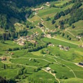 The village of Vorderthal seen from the summit of Gross Aubrig.- Gross Aubrig + Nussen Loop