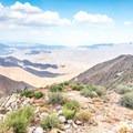 Where the mountains meet the desert.- Foster Point