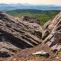 View from Wilburn Ridge.- Wilburn Ridge Loop via Pine Mountain + the Appalachian Trail