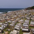 Cemetery below San Felipe del Morro.- San Juan National Historic Park