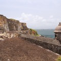 Garita on the lower mezzanine of San Felipe del Morro.- San Juan National Historic Park