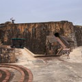 The lower mezzanine of San Felipe del Morro.- San Juan National Historic Park