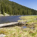 Timberline Lake.- Timberline Lake Hike