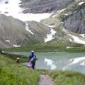 Cracker Lake.- Cracker Lake