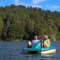 Pedal boating Loch Lomond.- Loch Lomond Paddling