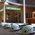 Adventures begin at the Adventure Center at Mount Hermon.- Mount Hermon Aerial + Zipline Adventures