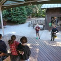 Staff brief visitors on the retreat center, forest etiquette, and safety procedures before each adventure.- Mount Hermon Aerial + Zipline Adventures