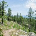 The Mickinnick Trail in Northern Idaho. - Mickinnick Trail