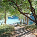 Deer Flat Picnic Area offers a distant dock and picnic ground can be reached by boat or by foot.- Loch Lomond Paddling