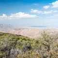 View of the Anza-Borrego from the Desert View Trail.- Desert View Trail via Burnt Rancheria Campground