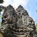North Gate of Angkor Thom.- Temples of Angkor Thom