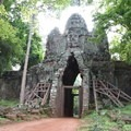West Gate of Angkor Thom.- Temples of Angkor Thom