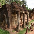 Elephant Terrace.- Temples of Angkor Thom