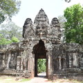 Victory Gate.- Temples of Angkor Thom