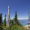 First summit of Unnecessary Mountain. - West Lion Hike via the Howe Sound Crest