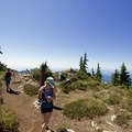 Plenty of big sky to be had. - West Lion Hike via the Howe Sound Crest