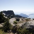 Howe Sound Crest.- West Lion Hike via the Howe Sound Crest