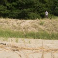 Looking out over the dunes.- Lake Michigan Recreation Area + Nordhouse Dunes Wilderness Area