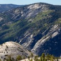 North Dome and Glacier Point. - North Dome + Indian Rock Via Porcupine Creek Trailhead