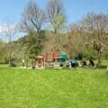 Children's playground along the Stream Trail. - Redwood Regional Park