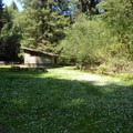 Trail's End campground and meadow.- Redwood Regional Park