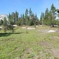 Backpackers camp at Vogelsang. - Vogelsang High Sierra Camp