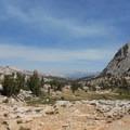 Vogelsang Pass. - Vogelsang High Sierra Camp