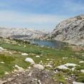 Vogelsang Lake. - Vogelsang High Sierra Camp