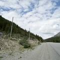 Trailhead as seen from the Alaska Highway. - Summit Ridge Trail