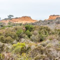 Broken Hill Overlook in the distance.- South Fork Trail to Broken Hill Overlook