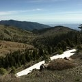 The view northeast from Snow Mountain. - Snow Mountain via Deafy Glade