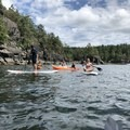 Many folks prefer to take casual trips around the shore. This can be fun, though it takes a lot of effort to get on the island. It's a better idea to come with a plan. - Lasqueti Islands Coast Paddle